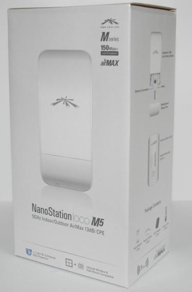 Ubiquiti Antennas (UBNT) : UBNT NanoStation Loco M5, 5GHz