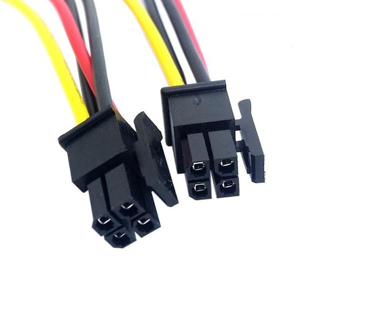 Power Connectors    Adaptors  Atx Molex Micro Fit Connector